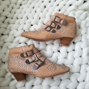 Jeffrey Campbell Starburst Studded Ankle Bootie